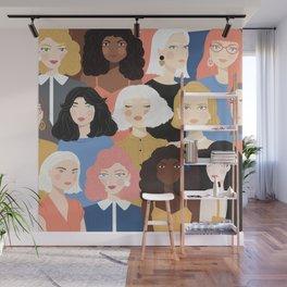 Girls 01 Wall Mural