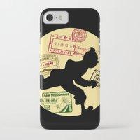 tintin iPhone & iPod Cases featuring Run Tintin, Run by ikado