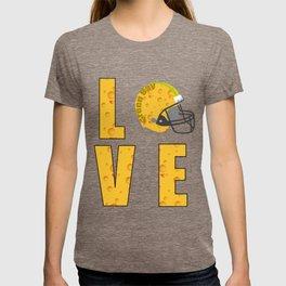 Green Bay | Rogers Fan | Cheese Head Love T Shirt T-shirt
