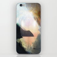 stay gold iPhone & iPod Skins featuring stay gold by Kiki collagist