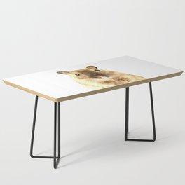 Hamster Portrait Coffee Table