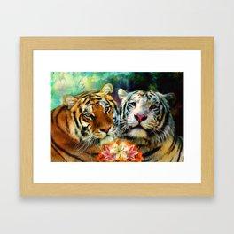 Tiger Lillies Framed Art Print