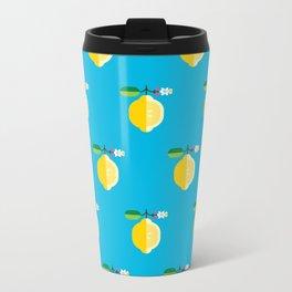 Fruit: Lemon Metal Travel Mug