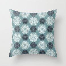 PAISLEYSCOPE posh (jade) Throw Pillow