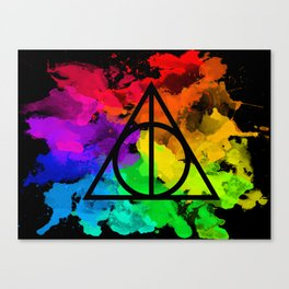 Rainbow Hallows  Canvas Print
