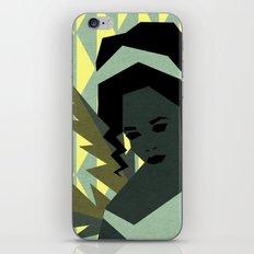 The shy girl iPhone & iPod Skin