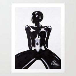 Belly Art Print