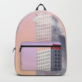 Twin towers New York Backpack