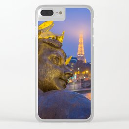 Pont Alexandre III in Paris Clear iPhone Case
