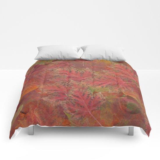 Autumn Reds Comforters