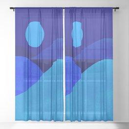 Abstraction_Moonlight Sheer Curtain
