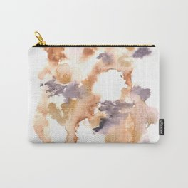 Soft Texture Watercolor | [Grief] Lightness Carry-All Pouch