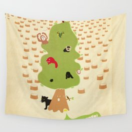 Be Good to Trees Wall Tapestry