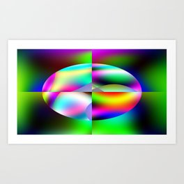 The Many Colors Of Space Art Print
