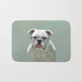 BILL the Bulldog Bath Mat