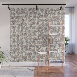 Giant money background 50 pound notes / 3D render of thousands of 50 pound notes Wall Mural