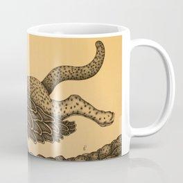 The feline's flight Coffee Mug