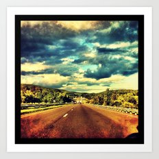 Open Road Art Print