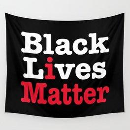 BLACK LIVES MATTER (inverse version) Wall Tapestry