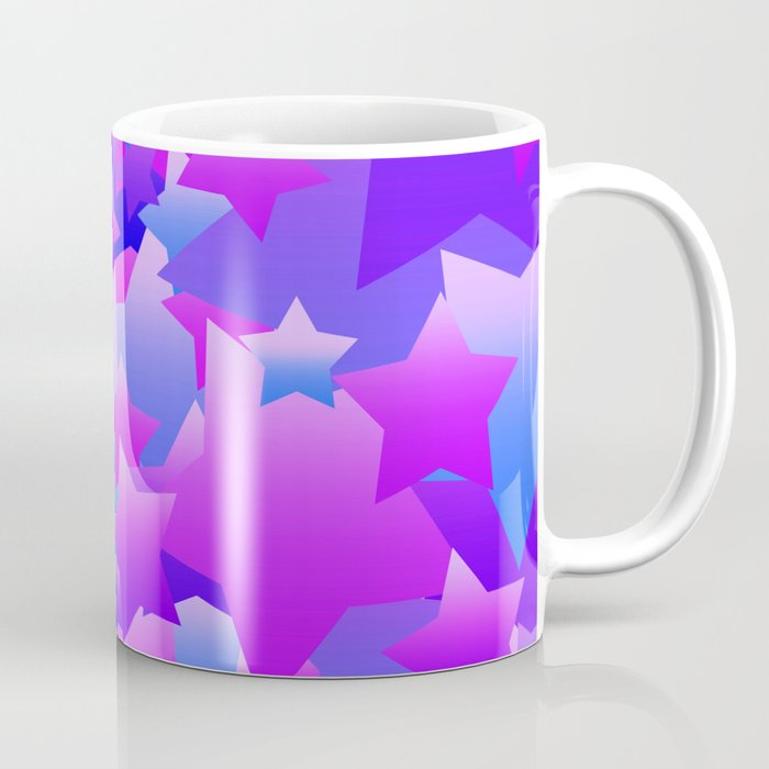 bubble stars purple coffee mug by blakcirclegirl society6