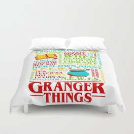 Granger Things Duvet Cover