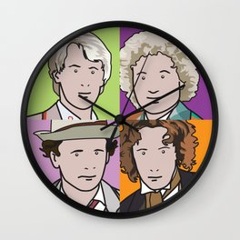 Doctors 5 to 8 Wall Clock