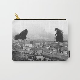 Old time Godzilla vs King Kong Reprised Carry-All Pouch
