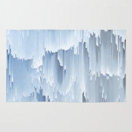 Waterfall glitch Rug