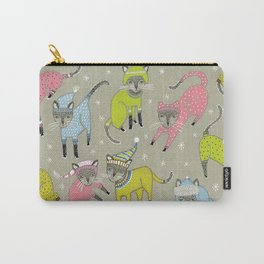 Sweater Cats Carry-All Pouch
