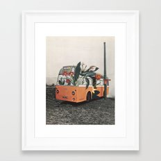 This is definitely my last stop. Framed Art Print