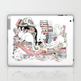 Acqua Alta bookstore, Venice Laptop & iPad Skin