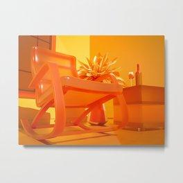 Attractive Solitude Metal Print