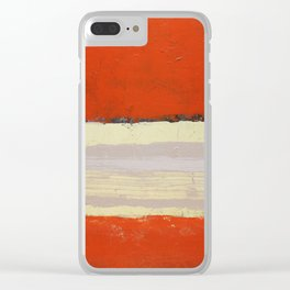 Vermillionel Clear iPhone Case
