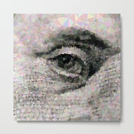 Geometric Eye Metal Print