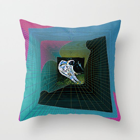 Corrupted Memory Throw Pillow By Davidgough