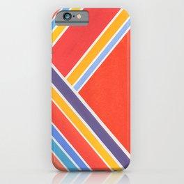 Bright Stripes iPhone Case