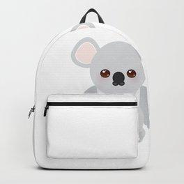 Funny cute koala Backpack