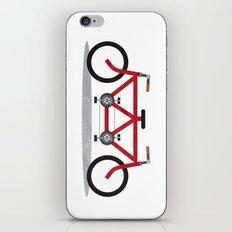 Broken Teamwork Tandem Bicycle iPhone & iPod Skin
