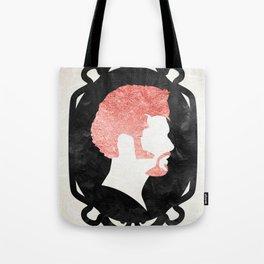 Rose Gold Hair Tote Bag
