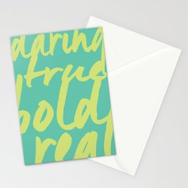 Fresh Start Stationery Cards