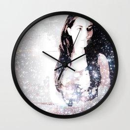 A Bright Star Elizabeth Taylor Wall Clock