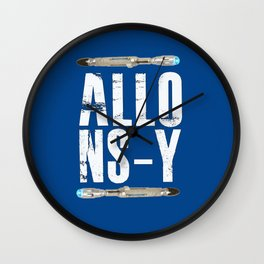 Allons-y! Doctor who sonic srewdrivers! Wall Clock