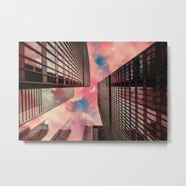 Cloud City at Dawn Metal Print