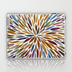 Watercolor Burst – Retro Palette Laptop & iPad Skin