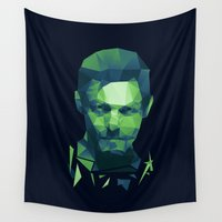 daryl dixon Wall Tapestries featuring Daryl Dixon - The Walking Dead by Dr.Söd