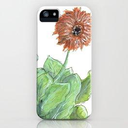 Gerbera iPhone Case