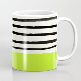 Electric Pineapple x Stripes Coffee Mug