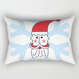 Christmas coming soon. Believe in Santa Clause. Believe #society6 #decor #buyart #artprint Rectangular Pillow