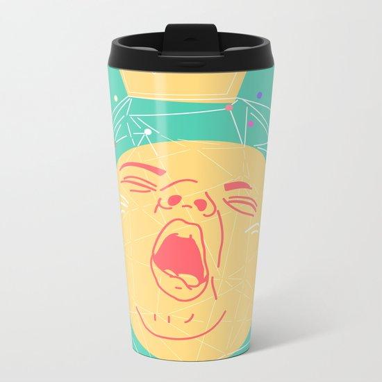 YAWN Metal Travel Mug