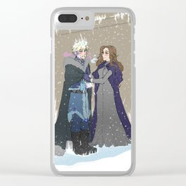 Winter of our Recalescent Clear iPhone Case